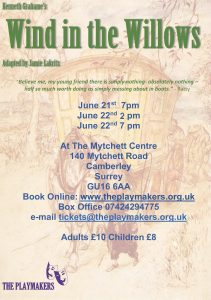 wind in the willows Poster crop